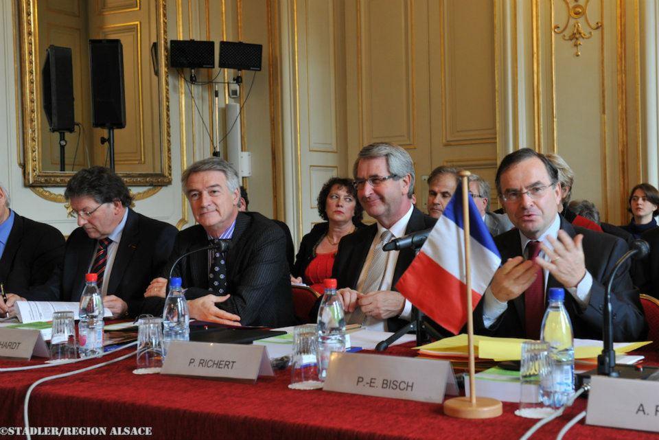 Plénière Conférence du Rhin Supérieur à Strasbourg