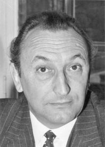 André Bord en 1970