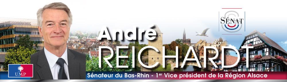 André REICHARDT – Sénateur du Bas-Rhin, 1er Vice-président de la Région Alsace