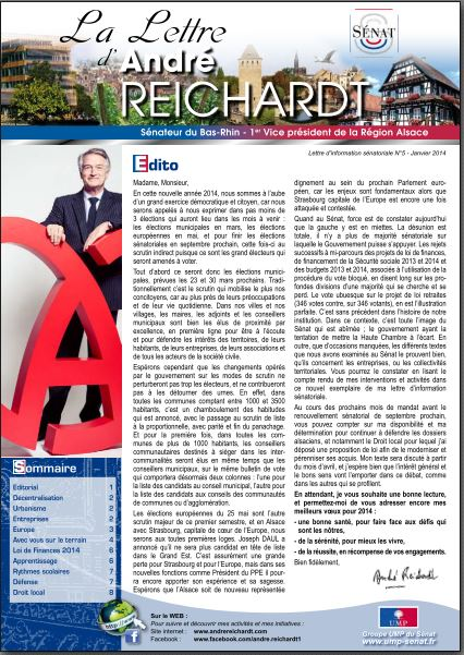 Newsletter André REICHARDT N°5