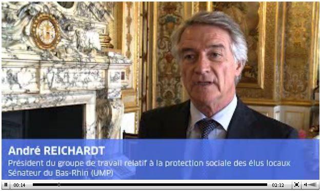 Vidéo Reichardt protection sociale élus