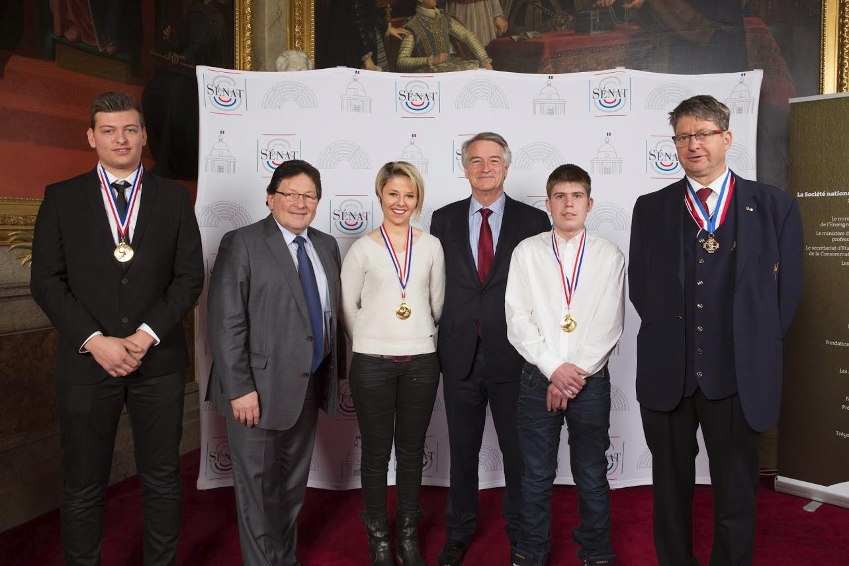 Laureats Meilleurs apprentis 2015