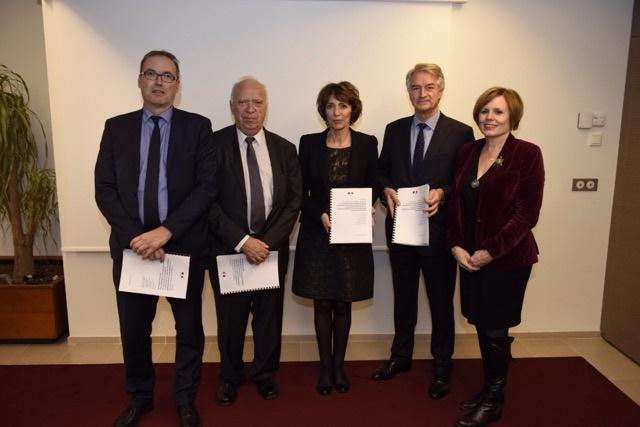 Remise du rapport de la mission parlementaire sur le régime local d'assurance maladie d'Alsace-Moselle